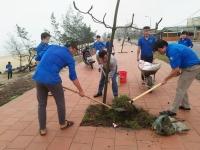 Tuổi trẻ Hà Tĩnh hưởng ứng ngày Chủ nhật xanh - Chung tay bảo vệ môi trường