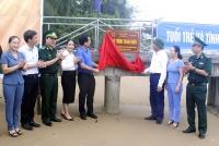 Khánh thành, bàn giao Cầu kiểm soát Trạm biên phòng Cửa Nhượng