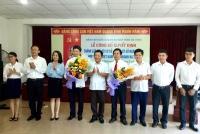 Đoàn Khối Doanh nghiệp: Công bố quyết định thành lập tổ chức cơ sở Đoàn thứ 57