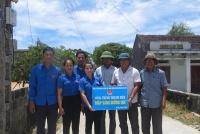 Đoàn khối Các cơ quan tỉnh: Bàn giao công trình đường điện thắp sáng làng quê
