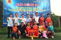 Tỉnh đoàn Hà Tĩnh vô địch Giải bóng đá chào mừng kỷ niệm 60 năm ngày thành lập lực lượng An ninh Chính trị nội bộ