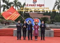 Tuổi trẻ Hà Tĩnh phát động thi đua Kỷ niệm 90 năm Ngày thành lập Đoàn TNCS Hồ Chí Minh