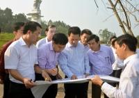 Chủ tịch UBND tỉnh chỉ đạo đẩy nhanh tiến độ nâng cấp các hạng mục tại Ngã ba Đồng Lộc