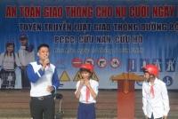 Can Lộc: Tập huấn kỹ năng lái xe an toàn và các kiến thức về luật ATGT cho Đoàn viên, thanh thiếu nhi tại trường học