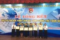 Đoàn viên Chi đoàn Sở KH&ĐT Hà Tĩnh nhất Hội thi Tin học CBCC trẻ toàn quốc