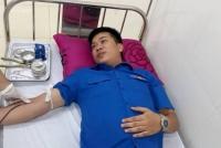 Hồng Lĩnh: 2 cán bộ thị xã hiến máu cứu bệnh nhân qua cơn nguy kịch