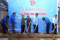 Tỉnh đoàn Hà Tĩnh đồng hành cùng xã Thạch Tiến  xây dựng nông thôn mới