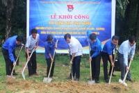 Tỉnh đoàn Hà Tĩnh hỗ trợ xã Hương Long xây dựng nông thôn mới