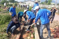 Cẩm Xuyên: Tiếp tục triển khai các hoạt động cao điểm hỗ trợ xây dựng nông thôn mới và đô thị văn minh