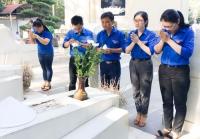 Thành đoàn Hà Tĩnh: Hành hương về thăm Ngã ba Đồng Lộc