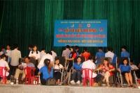 Vũ Quang: Sôi nổi Lễ tuyên dương và ngày hội hiến máu nhân đạo đợt 2 năm 2018