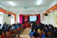 Thị đoàn Hồng Lĩnh: Đồng loạt các cơ sở Đoàn tổ chức tổng kết Hè 2018