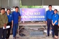 Thị đoàn Hồng Lĩnh: Đoàn phường Đức Thuận Ra mắt mô hình kinh tế do thanh niên làm chủ