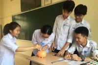"""Đức Thọ: Đoàn trường THPT Nguyễn Thị Minh Khai với phong trào  """"Mỗi ngày một việc tốt, mỗi tuần một việc tốt, mỗi tháng một việc tốt"""""""