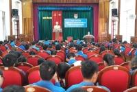 Cẩm Xuyên: Tổ chức tập huấn nghiệp vụ Đoàn - Đội địa bàn dân cư và Hội nghị báo cáo viên Quý II/2018