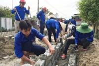 Tuổi trẻ thành phố Hà Tĩnh chung sức xây dựng nông thôn mới