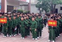 """100 """"chiến sĩ nhí"""" xuất quân Học kỳ trong quân đội khóa I năm 2018"""