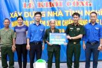 Tỉnh đoàn – Vietel Hà Tĩnh: Khởi công xây dựng nhà tình nghĩa  cho cựu thanh niên xung phong