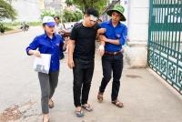 Dấu ấn màu áo xanh tình nguyện trong kỳ thi THPT Quốc gia 2018