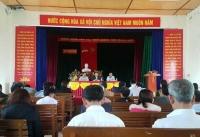 Ban Thường vụ Tỉnh đoàn làm việc với xã Thạch Tiến (Thạch Hà) về các nội dung hỗ trợ đỡ đầu xây dưng Nông thôn mới năm 2018