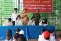 LỘC HÀ: Tuyên truyền Lật ATGT, phòng chống ma túy, tệ nạn xã hội cho 1.400 ĐVTN