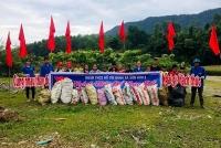 Tuổi trẻ Hà Tĩnh chung tay hành động vì một Việt Nam xanh