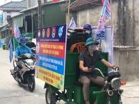 Cẩm Xuyên: Tiếp tục đẩy mạnh công tác tuyên truyền phòng chống dịch Covid-19